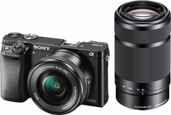 Hot Deal: Sony A6000 with 16-50mm and 55-210mm Lenses for $499.99!