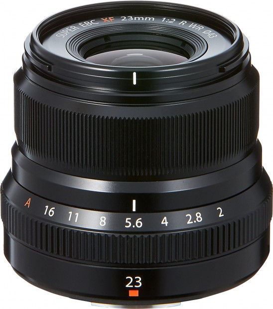 Hot Deal: FUJIFILM XF 23mm F2 R WR Lens for $389.99 at Amazon!