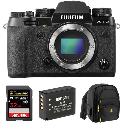 Free Accessory Kit and $500 Off on Fujifilm X-T2