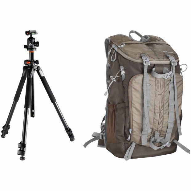 Hot Deal: Vanguard Alta Pro 263AB 100 Tripod with SBH-100 Ball Head and Vanguard Sedona 51 DSLR Backpack for $157.98