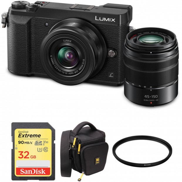 Hot Deal: Panasonic GX85 w/ 12-32mm & 45-150mm Lenses + more for $497.99