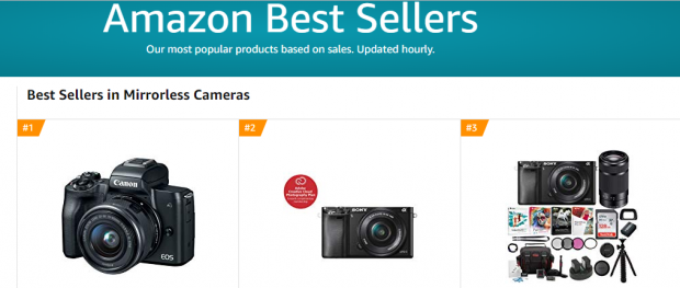 Five Years Old Sony A6000: One of the Best Sellers at Amazon!
