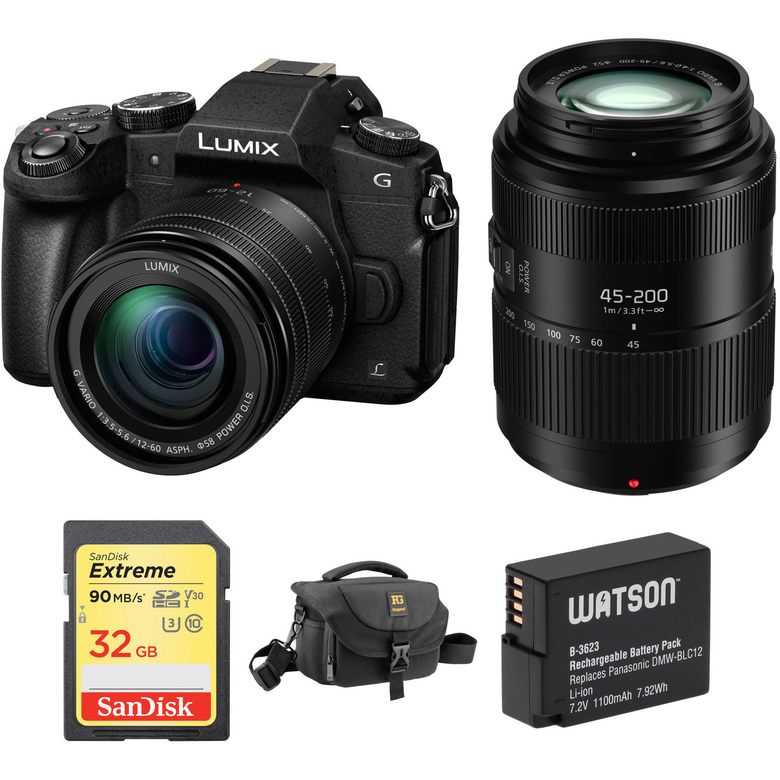 Hot Deal: Panasonic G85 with Two Lenses and Free Extras for $897 99