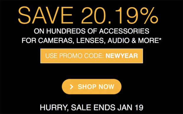 Hot Deals: Save 20.19% on Hundreds of Accessories for Olympus Cameras, Lenses, Audio and More.