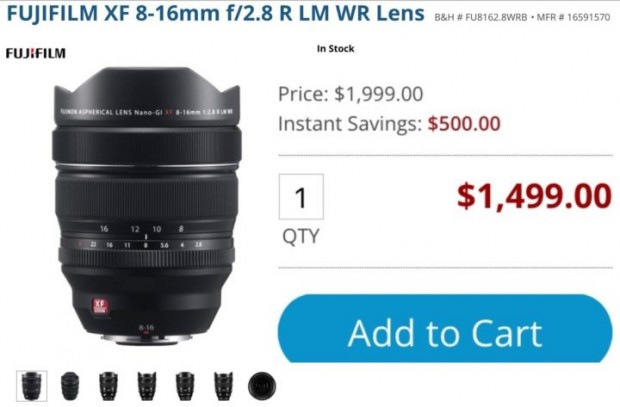 Hot Deals: Up to $1,000 Off on Fujifilm XF Lenses