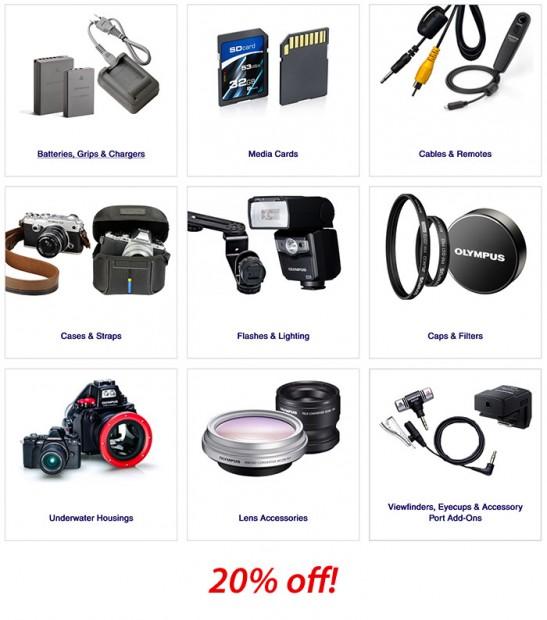 Olympus Accessories deals