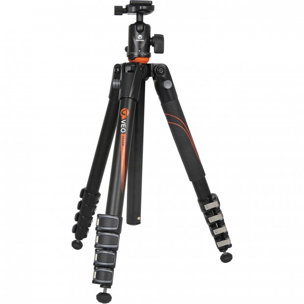 Hot Deal: Vanguard VEO 265AB Aluminum Tripod with TBH-50 Ball Head for $79.95