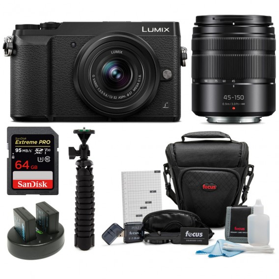 Hot Deal: Panasonic GX85 with 12-32mm & 45-150mm Lenses + more for $497.99