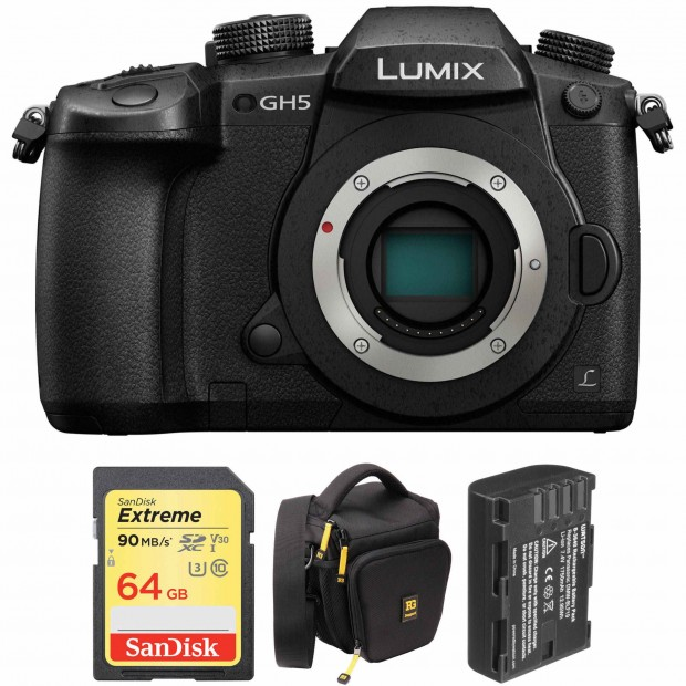 Hot Deals: Save Big on Panasonic Lumix DC-GH5 Specials
