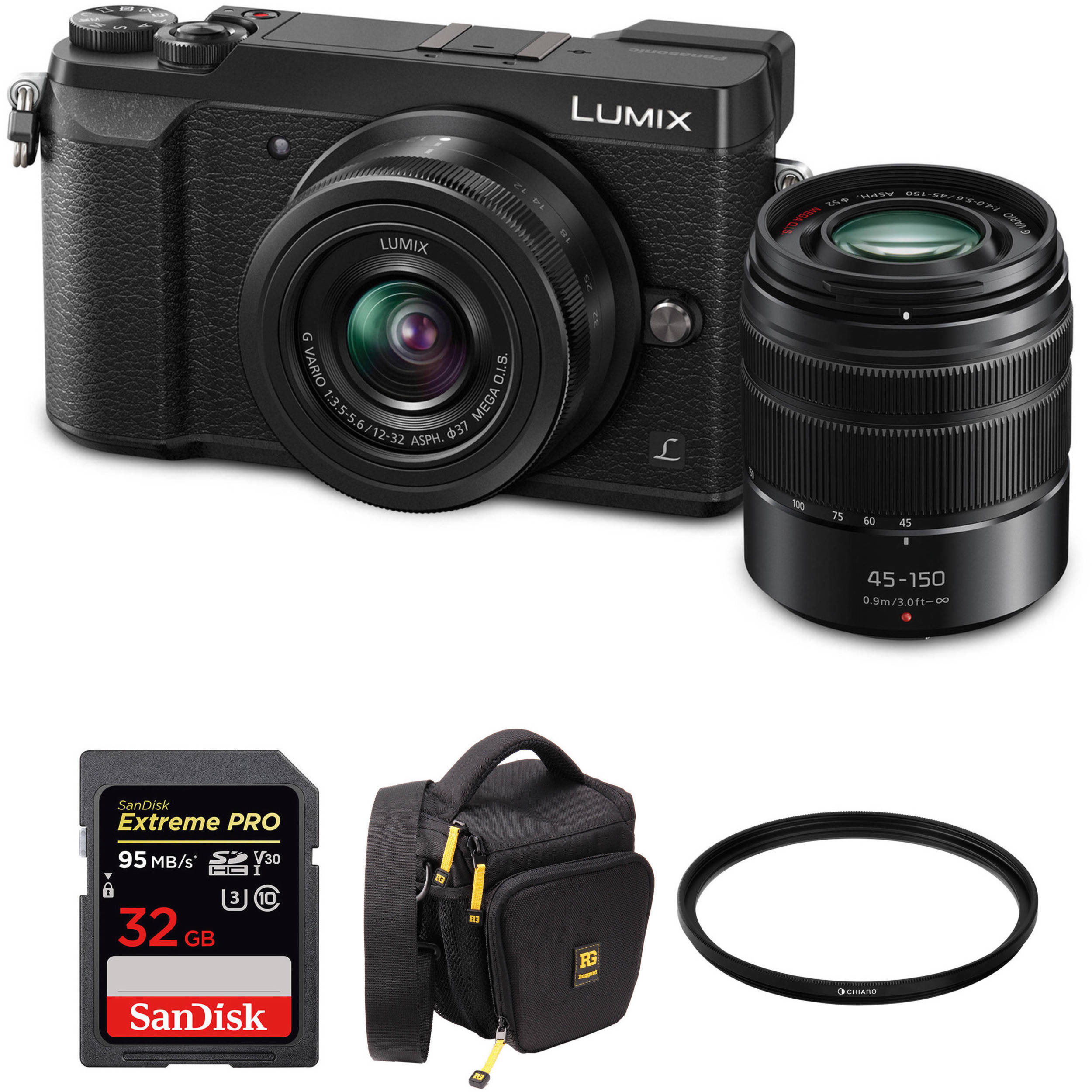 Hot Deal: Panasonic GX85 with 12-32mm & 45-150mm Lenses & Free Accessories for $497.99