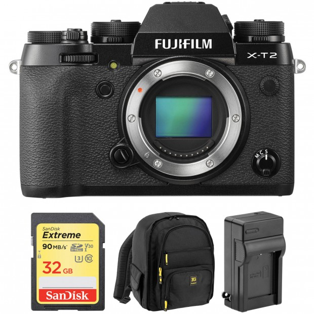 Hot Deals: $800+ Off on Fujifilm X-T2 Lens Kit