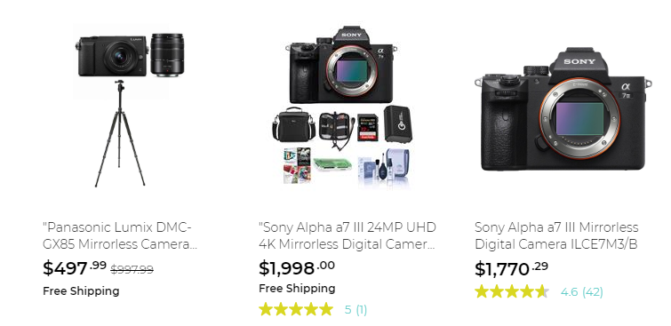 Rakuten camera deals