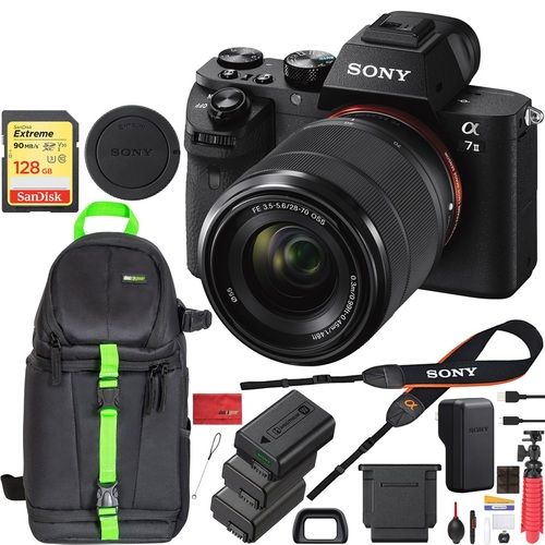 Hot Deal: Sony A7 II w/28-70mm F3.5-5.6 OSS Lens Bundle for $998