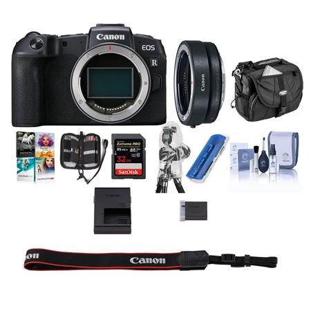 Hot Deal: Canon EOS RP With Free PC Acc Bundle for $999!