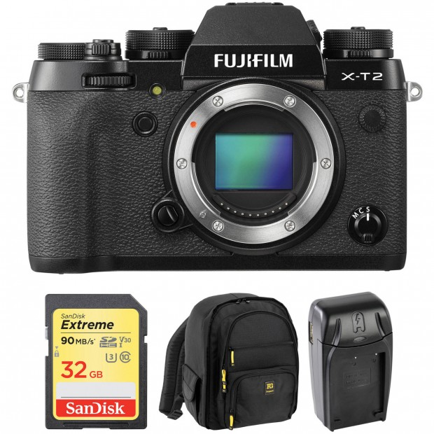 Hot Deal: Fujifilm X-T2 with Free Accessory Kit for $799!