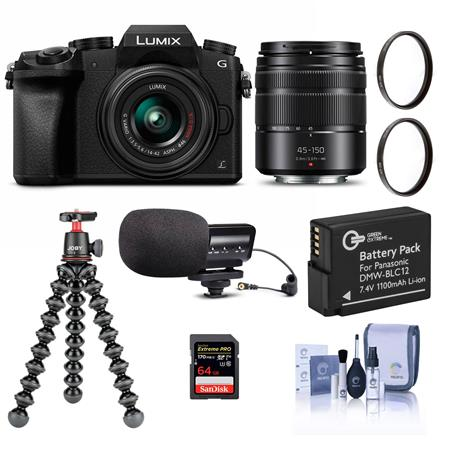 Hot Deal: Panasonic DMC-G7 with Two Lenses and Accessory Kit for $497.99!