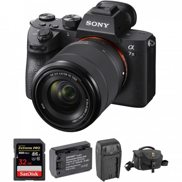 Hot Deal: $200 Off on Sony A7 III with Accessory Kit!