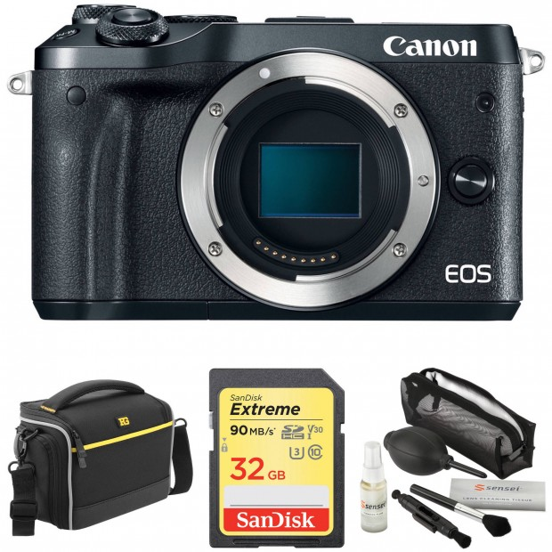 Hot Deal: Canon EOS M6 with Free Accessory Kit for $399!