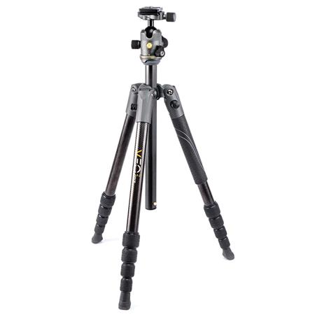 Hot Deal: Vanguard VEO 2 235CB 5-Section Carbon Fiber Travel Tripod with BH-50 Ball Head for $109.95