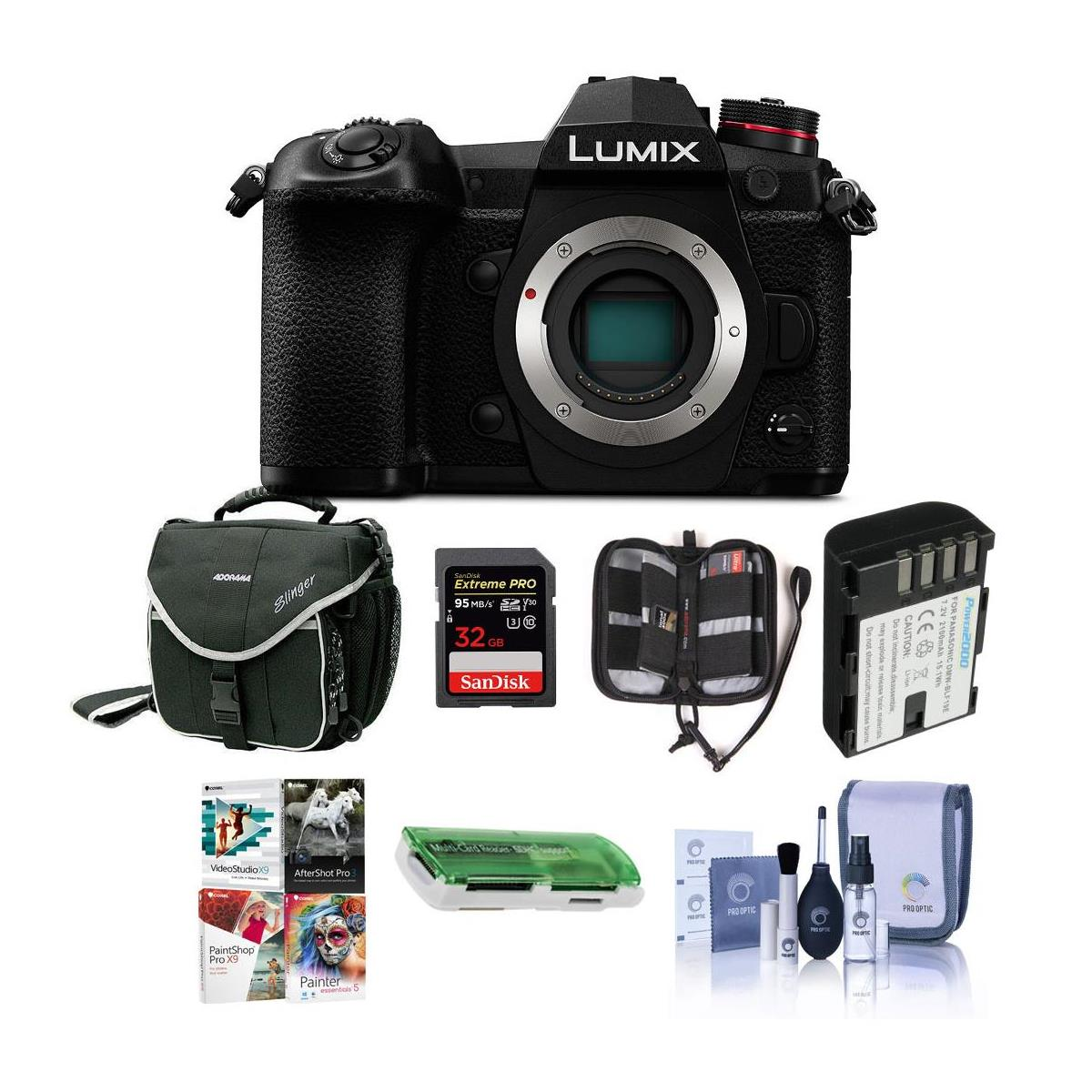 Hot Deal: Panaosnic Lumix DC-G9 With Accessories Kit for $997.99!