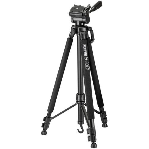 Hot Deal: Sunpak 6630LX Medium-Duty Aluminum Tripod for $14.99!