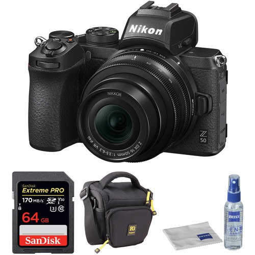 Hot Deals: Up to $250 Off on Nikon Z 50 Lens Kit!