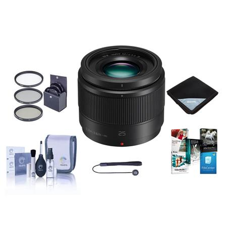 Hot Deal: Panasonic 25mm f/1.7 Lumix G Aspherical Lens with Bundle for $147.99!