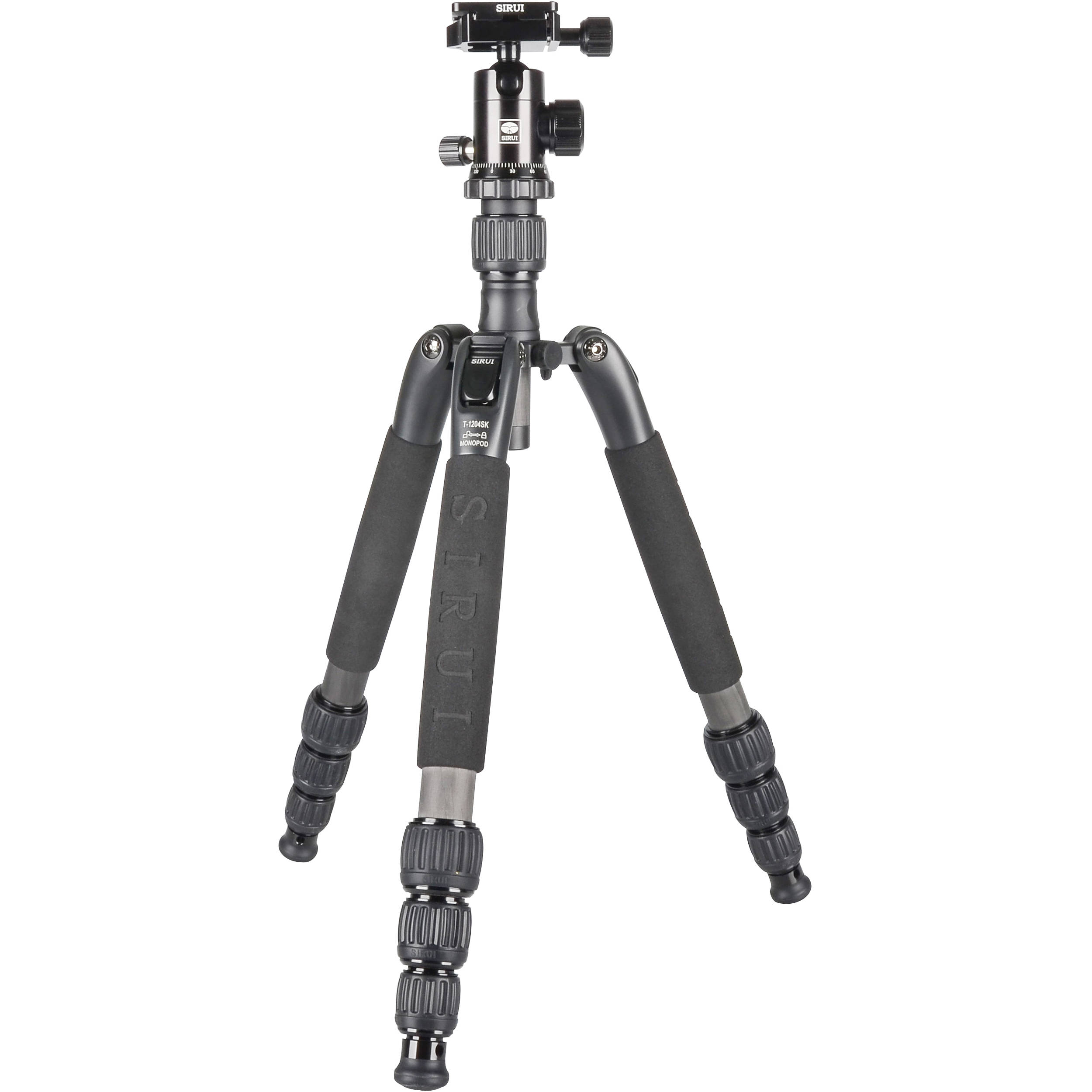 Hot Deal: Sirui T-1204SK Carbon Fiber Tripod with G-10KX Ball Head Travel Tripod Kit for $149.90