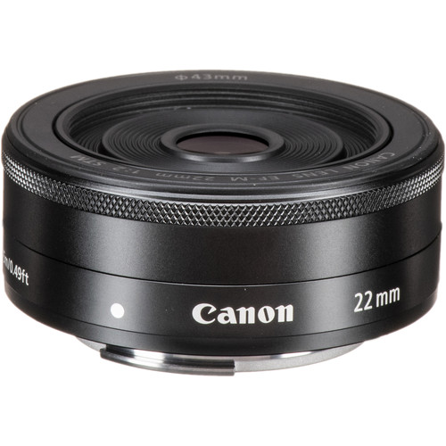 Hot Deal: Canon EF-M 22mm f/2 STM Lens for $149!