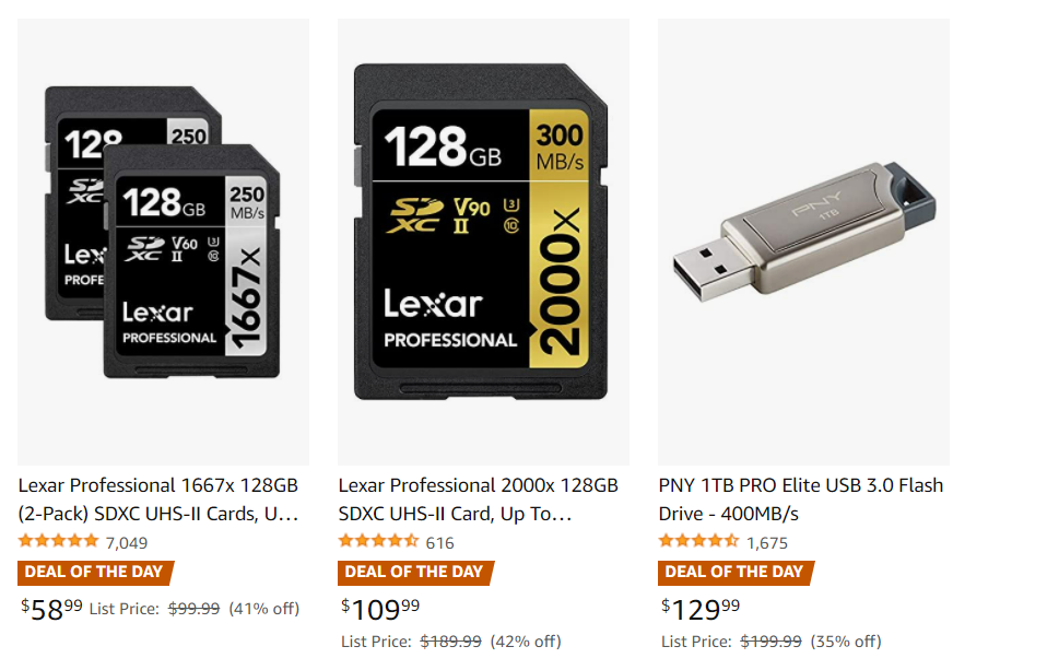 Hot Deals: Up to 42% off on SD Memory Cards at Amazon!